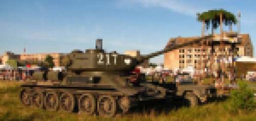 Zlot pojazdów militarnych Borne Sulinowo