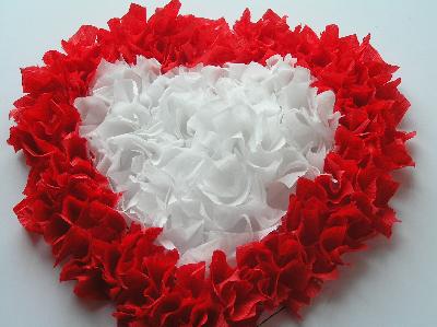 Serce z bibuły