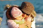 dziecko z mama